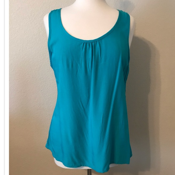The Arte Tops - Teal Blouse, L